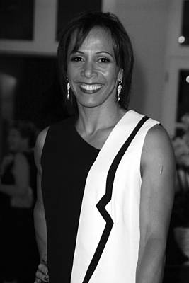 Dame Kelly Holmes 1 Art Print by Jez C Self