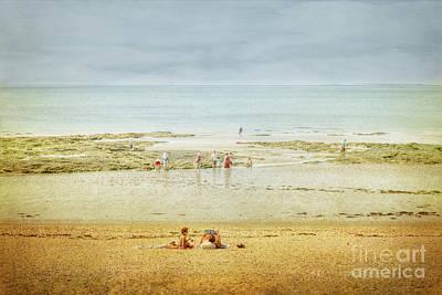 Photograph - Damgan Beach In France by Elaine Teague