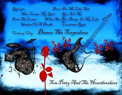 Heartbreaker Digital Art - Damn The Torpedoes by Michael Damiani