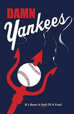 Damn Yankees 4 Art Print