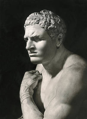 Damosseno By Antonio Canova Art Print by Underwood Archives