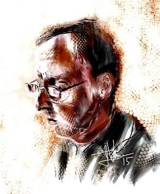 Digital Art - Dan by Jim Vance