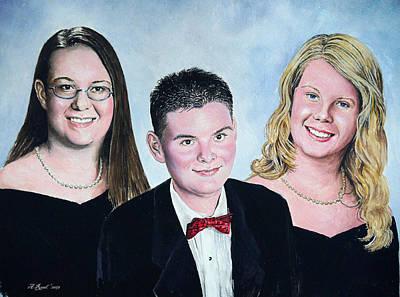 Dana Curtis And Viktoria Art Print by Andrew Read