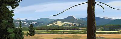 Danaher View Panorama Art Print