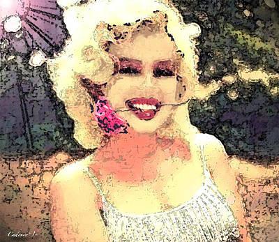 Dana's Marilyn II Art Print