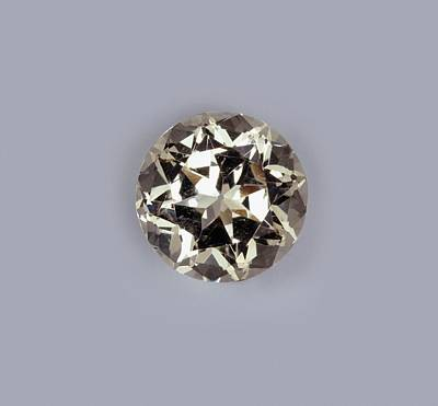 Semi Precious Gemstones Photograph - Danburite Semiprecious Gemstone by Dorling Kindersley/uig