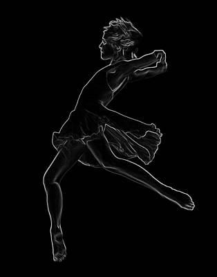 Photograph - Dance - Lines by Nicholas Evans