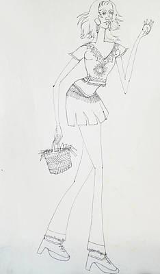 Dance-36 Art Print
