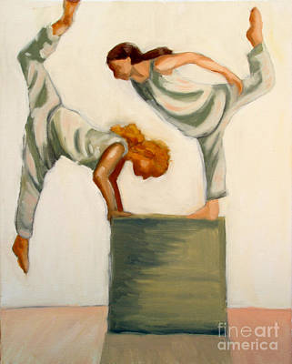 Dance Composition Art Print
