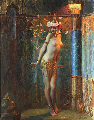 Digital Art - Dance De Salome by Gaston Bussiere