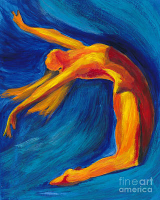 Dance Art Print by Denise Deiloh