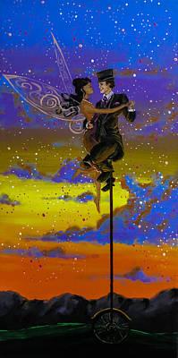 Painting - Dance Enchanted by Joel Tesch
