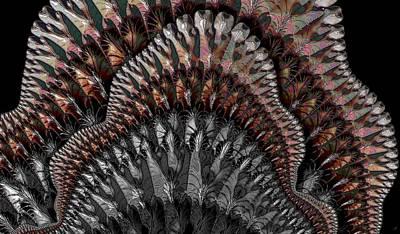 Digital Art - Dance Fan by Ron Bissett