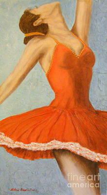 Dance Fever... Art Print by Elena  Constantinescu