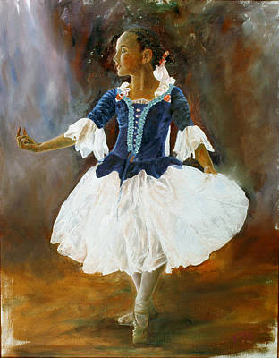 Art Print featuring the painting Dance For Papa by Rick Fitzsimons