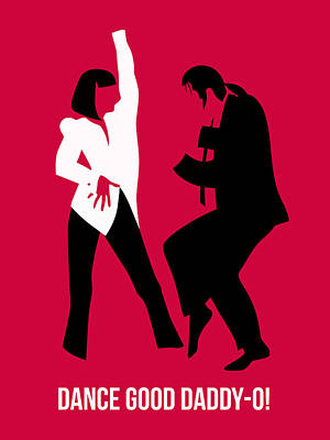Tarantino Digital Art - Dance Good Poster 2 by Naxart Studio