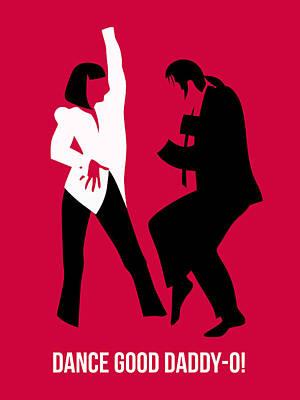 Dance Good Poster 2 Print by Naxart Studio