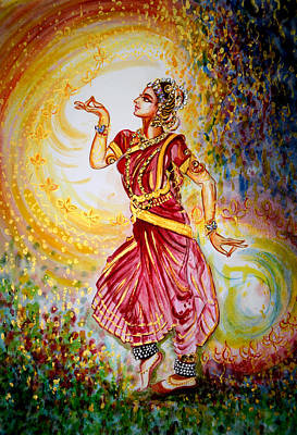 Indian Painting - Dance 2 by Harsh Malik