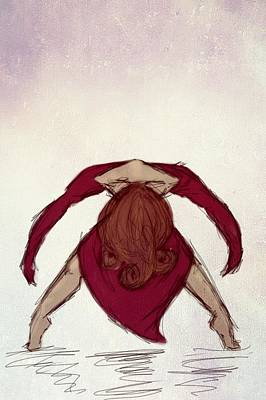 Digital Art - Dance IIi by Stephanie Hollingsworth