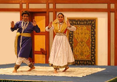 Dance In India Art Print by Linda Phelps