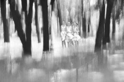 Fuzzy Digital Art - Dance In The Wood by larisa Fedotova
