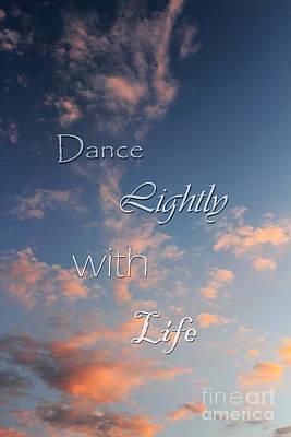 Dance Lightly Art Print by Darren Fisher