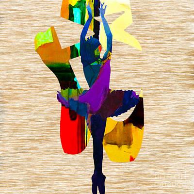 Dance Art Print by Marvin Blaine