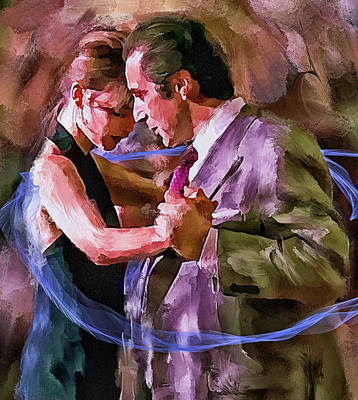 Digital Art - Dance Me To The End Of Love 1 by Yury Malkov