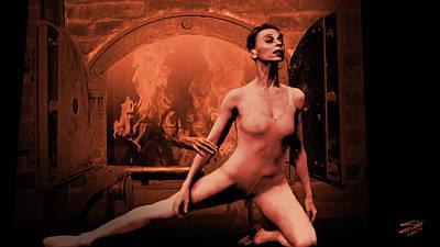 Leonard Digital Art - Dance Me To The End Of Love by IM Spadecaller