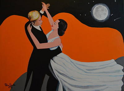 Painting - Dance Moon by Jorge Parellada