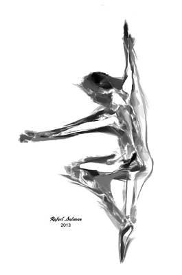 Priska Wettstein Pink Hues - Dance Move II by Rafael Salazar