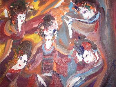 Ability Painting - Dance Of Determination by Judith Desrosiers