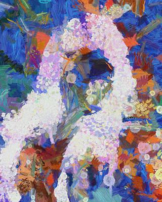 Art Print featuring the painting Dance Of Fools by Joe Misrasi