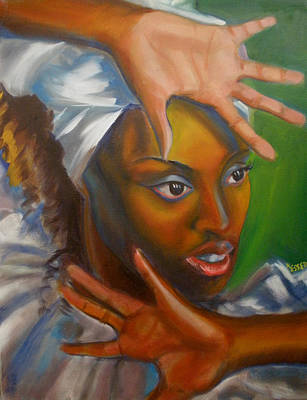 Painting - Dance Of Hands by Kaytee Esser