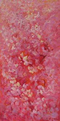 Dance Of The Cherry Blossoms Original by Karin  Leonard