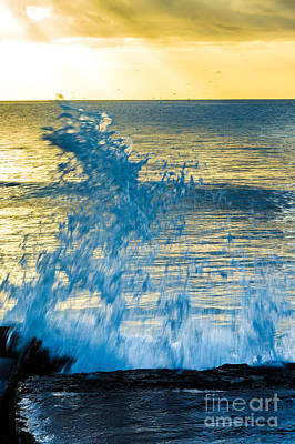 Photograph - Dance Of The Crashing Wave by Rene Triay Photography