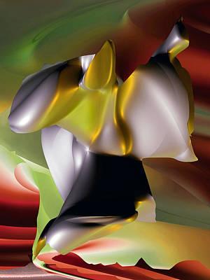 Digital Art - Dance Of The Cybernauts by Dolores Kaufman