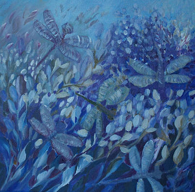 Painting - Dance Of The Dragonflies by Joanne Smoley