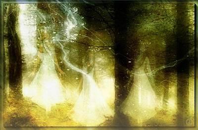 Fantasy Digital Art - Dance Of The Fairies by Gun Legler