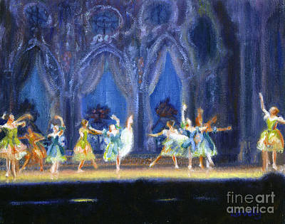 Bluffton Painting - Dance Of The Flowers by Candace Lovely