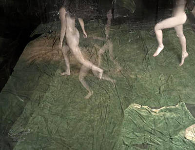 Digital Nudes Photograph - Dance Of The Forest Beings by Renata Vogl