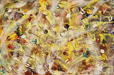 Painting - Dance Of The Leaves by Dariusz Orszulik