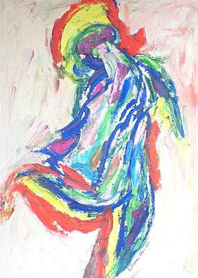 Painting - Dance Of The Rainbow by Esther Newman-Cohen