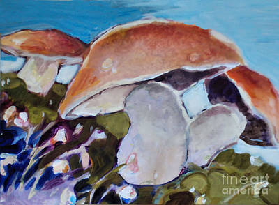 Painting - Dance Of The Schrooms by Diane Ursin