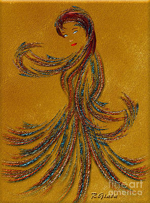 Dance Of The Seven Veils - Salome - Fantasy Art By Giada Rossi Print by Giada Rossi