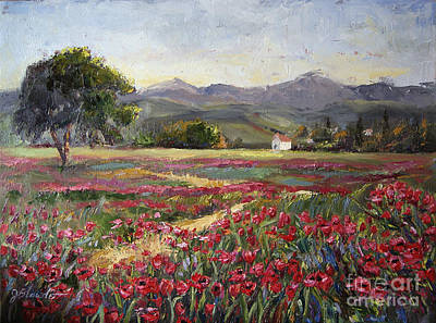 Painting - Dance Of The Tulips by Jennifer Beaudet
