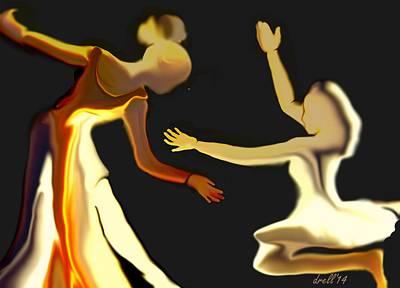 Dance Recital Digital Art - Dance Recital by Landrell Folse