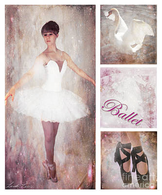 Digital Art - Dance Series - Ballet by Linda Lees