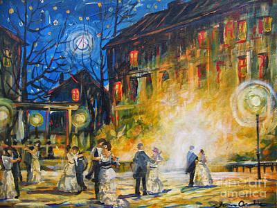 Dance The Night Away Art Print
