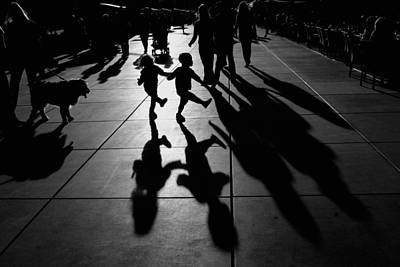Shadow Dancing Photograph - Dance by Vedrana Domazet